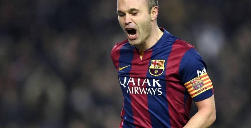 """إنيستا عقب تعادل برشلونة أمام سيلتا فيجو: """"نتيجة المباراة جيدة"""""""