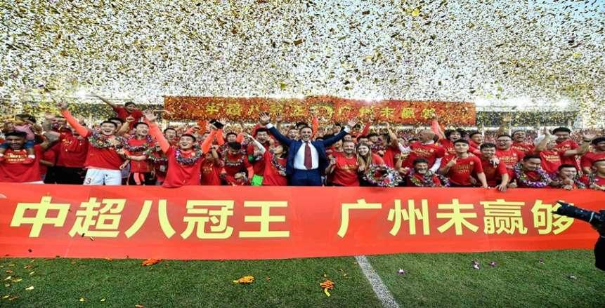 الدوري الصيني أول لقب في مسيرة كانافارو التدريبية مع جوانجزو