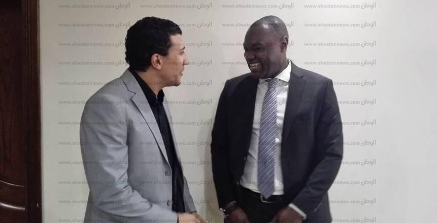 الحوار الكامل  باتريك مبوما: «صلاح» سيحلق بعيدًا فى سماء الكرة العالمية.. ومصر ستنظم أجمل بطولة أفريقية