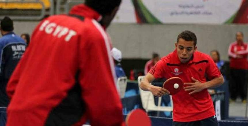 «رجال الأهلي لتنس الطاولة» يتوج بالبطولة العربية