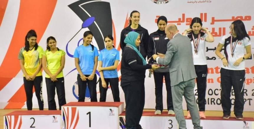 كواليس ختام بطولة مصر الدولية الخامسة للريشة الطائرة