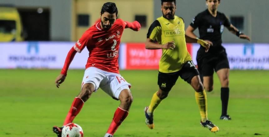 موعد مباراة الأهلي ووادي دجلة الجمعة 1-1-2021 في الدوري المصري