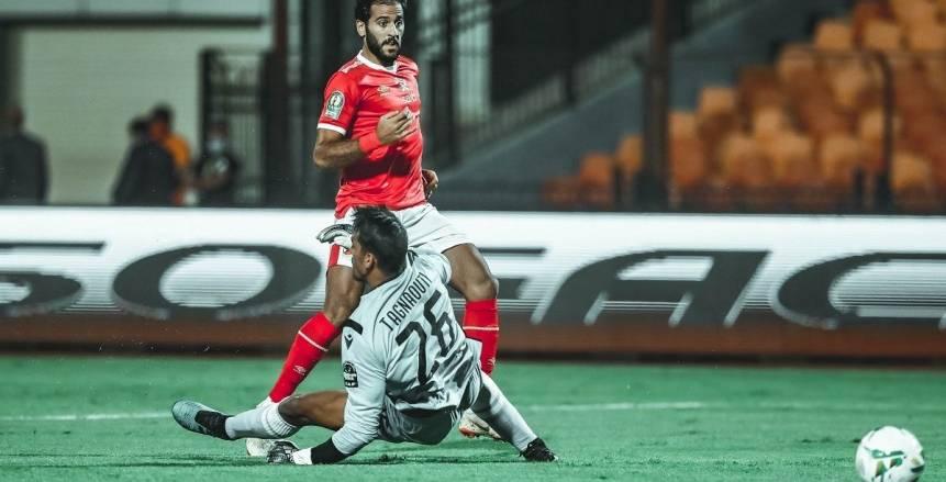 مروان محسن خارج قائمة الأحمر أمام البنك الأهلي في الدوري
