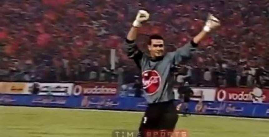 """قبل مباراة الأهلي والاسماعيلي.. الحضري ينشر فيديو احتفاله في مباراة """"4-4"""""""
