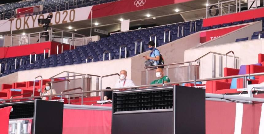 أولمبياد طوكيو.. حسن مصطفى يحضر تدريب منتخب اليد