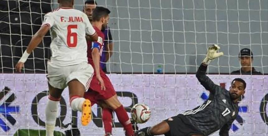 فرحة قطرية وحسرة إماراتية بعد فوز العنابي برباعية نظيفة في نصف نهائي كأس أسيا