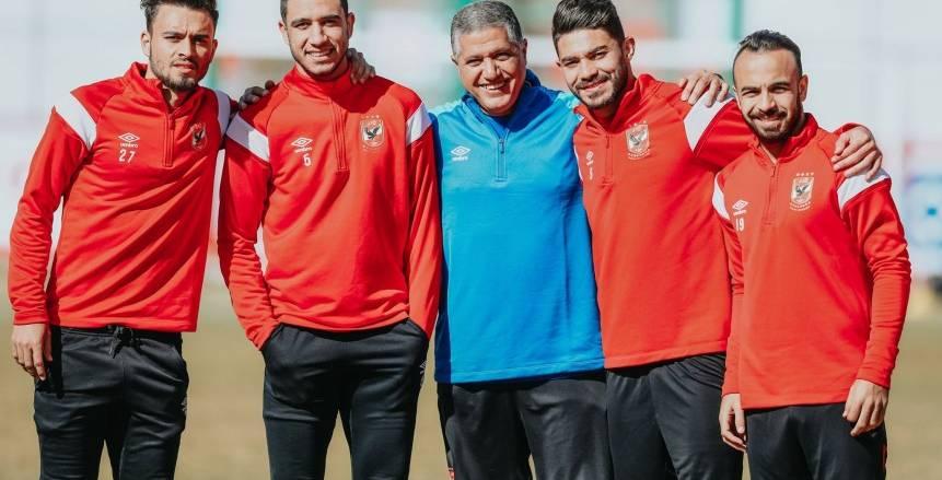 تدريبات الأهلي اليوم الإثنين استعدادًا لمواجهة مصر المقاصة