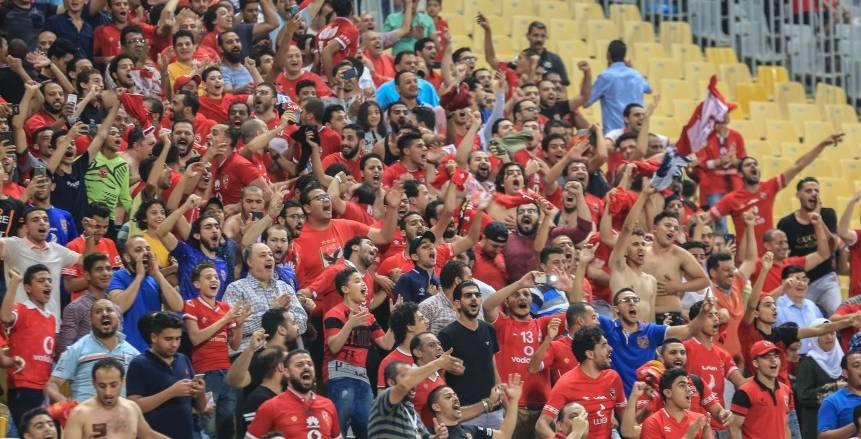 جماهير  الأهلي والزمالك تتوافد على مدرجات برج العرب قبل 4 ساعات من مباراة السوبر