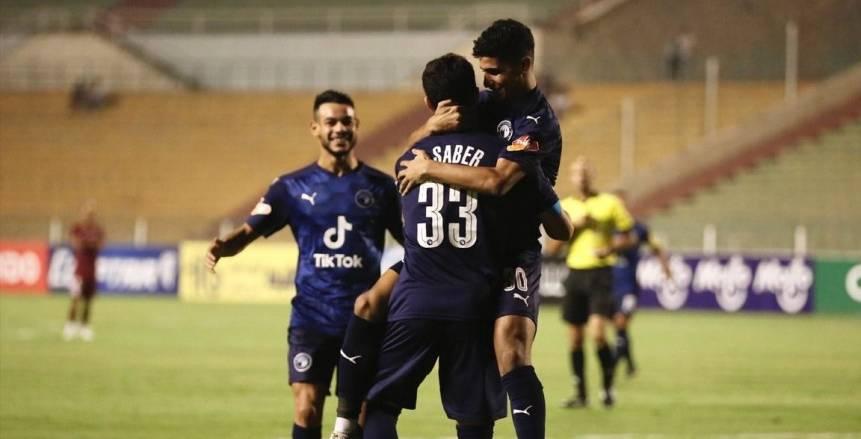 مباراة بيراميدز ومصر للمقاصة في الدوري الممتاز