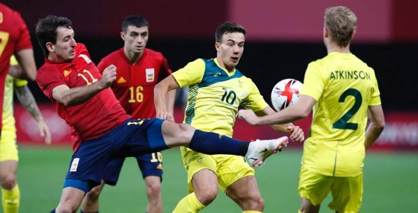 إسبانيا تفوز على أستراليا بهدف.. وتعقد فرص صعود منتخب مصر الأولمبي