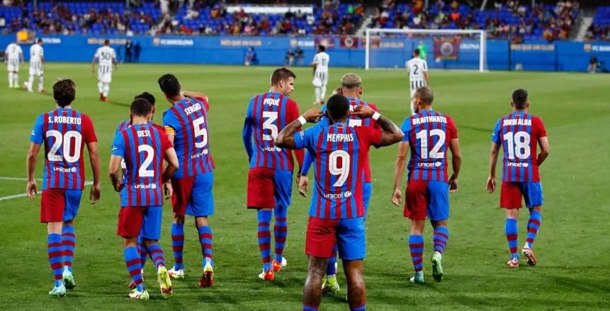 ديباي يقود برشلونة للفوز على خيتافي في الدوري الإسباني «فيديو»