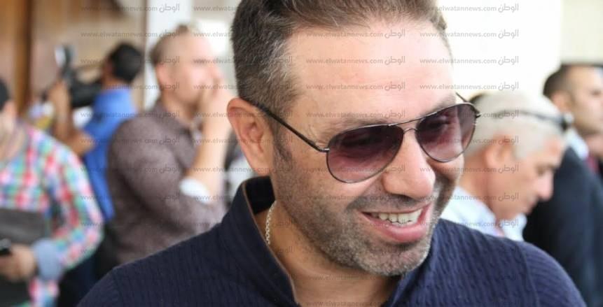صورة.. حازم إمام يدعم منتخب الشباب قبل أمم إفريقيا