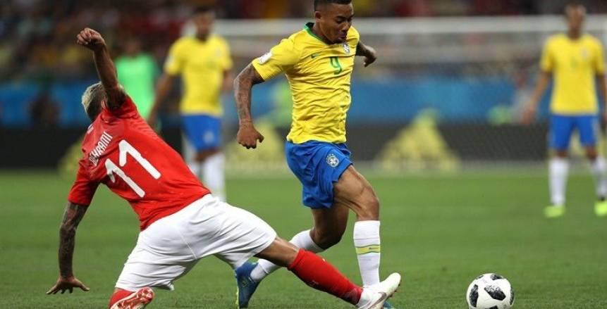 صور مباراة البرازيل وسويسرا في كأس العالم