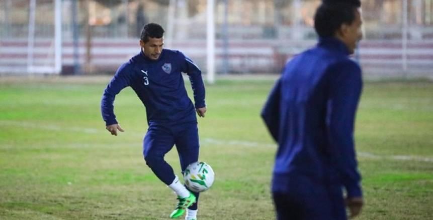 طارق حامد ينتظم في تدريبات الزمالك قبل مواجهة المصري