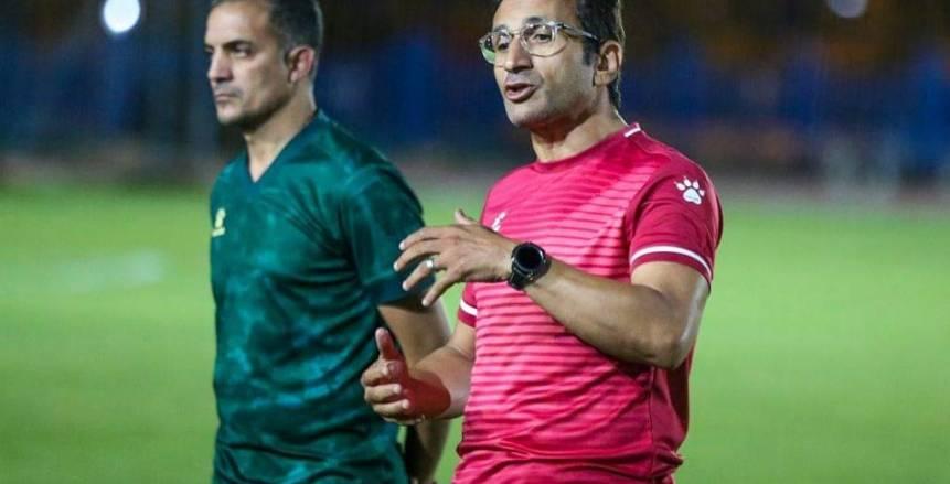 الوديات سلاح أحمد سامي لعلاج أخطاء لاعبي سموحة قبل مواجهة إنبي