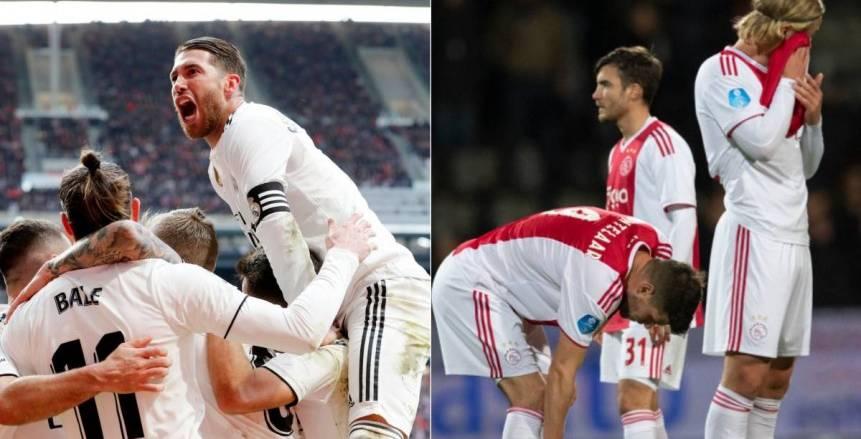 «يويفا» يحسم الجدل حول هدف أياكس الملغي أمام ريال مدريد