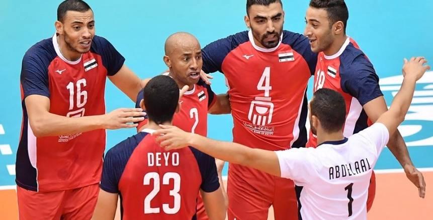 اليوم.. رجال الطائرة في مواجهة تونس بكأس العالم