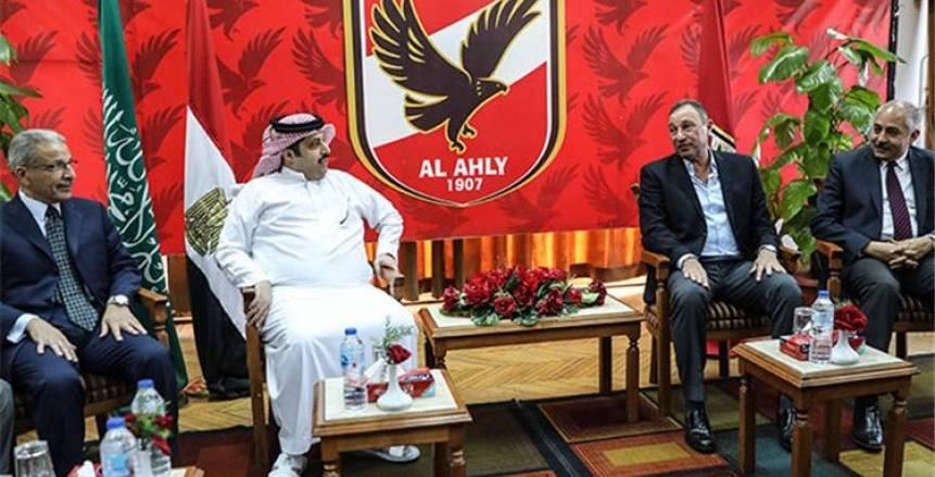 محمود الخطيب يشكر تركي آل الشيخ.. ويؤكد: العلاقات بين مصر والسعودية تاريخية