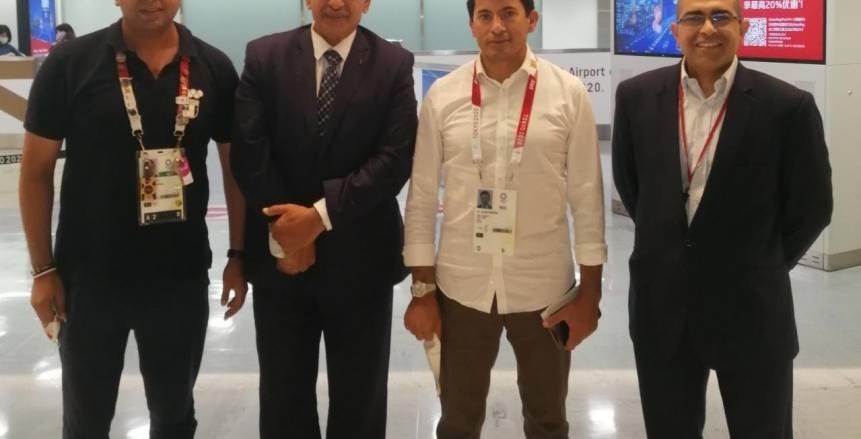 وزير الرياضة يصل اليابان لدعم منتخب مصر لكرة اليد في مباراة البرونزية