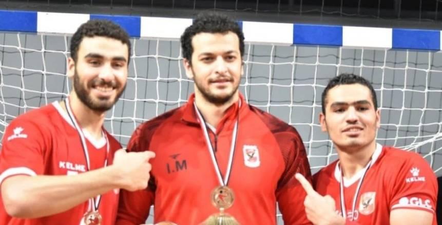تعافي إبراهيم المصري لاعب يد الأهلي من فيروس كورونا