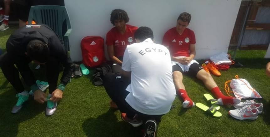 كواليس تدريب المنتخب في ايطاليا استعداداً للمونديال