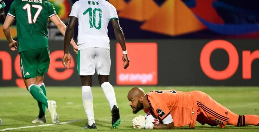 الجزائر ضد السنغال.. رقم قياسي ينتظره رايس مبولحي في نهائي أمم أفريقيا 2019