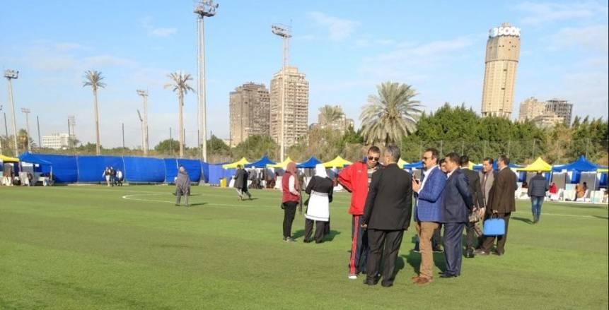 بالصور| بدء عملية التصويت بانتخابات مركز شباب الجزيرة
