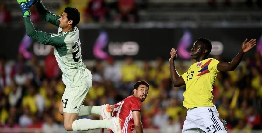 بالفيديو| تعادل سلبي في شوط أول مثير بين مصر وكولومبيا