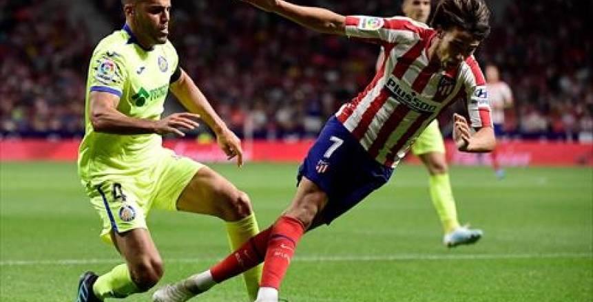 وسط حالتين طرد ومهارة فيليكس.. أتليتكو مدريد ينتصر على خيتافي بهدف