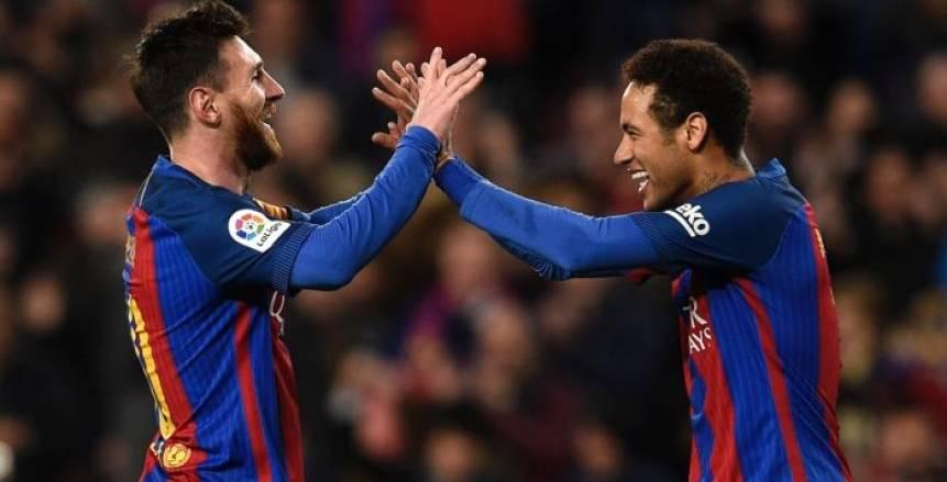 ميسي يتدخل لحسم انتقال نيمار إلى برشلونة.. ويحذره من ريال مدريد