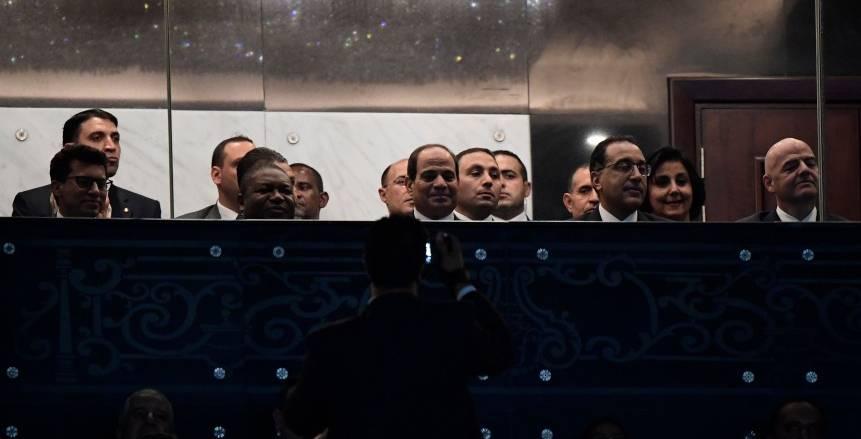 عاجل| الرئيس عبد الفتاح السيسي يفتتح كأس الأمم الأفريقية