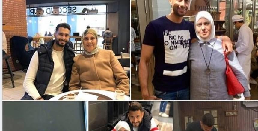 أحمد عادل محتفلا بوالدته في عيد الأم: انتي صاحبتي مش أمي