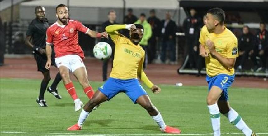 القنوات المفتوحة الناقلة لمباراة الأهلي وصن داونز اليوم في دوري أبطال إفريقيا