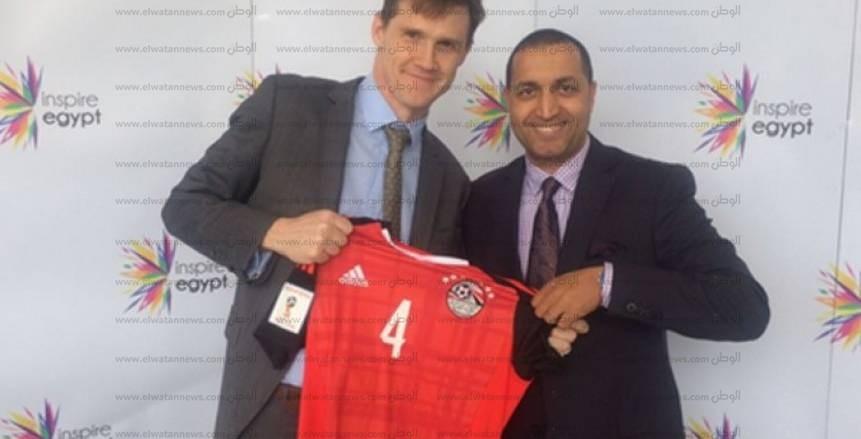 حوار| جون كاسن: مصر وإنجلترا  فى نهائى كأس العالم.. وأدعم «صلاح» فى مواجهة «كين»