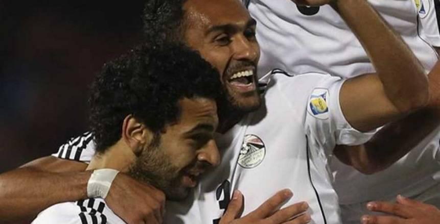 صلاح والمحمدي في مقدمة ترتيب هدافي كأس أمم أفريقيا بهدفين