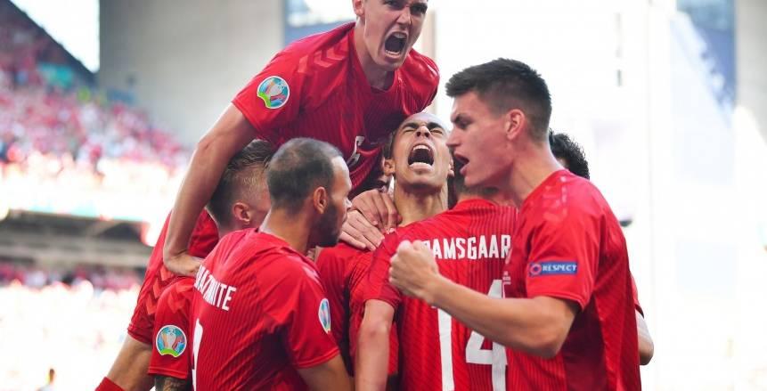 أهداف مباراة بلجيكا والدنمارك اليوم في يورو 2020.. دي بروين يتقدم