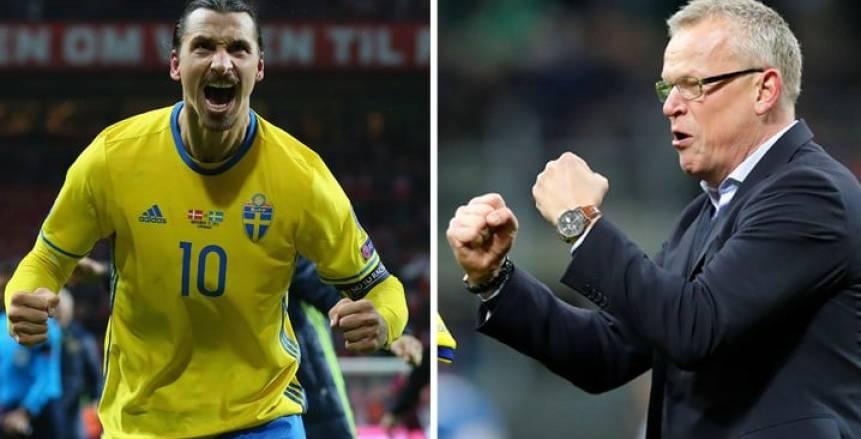 رسميا.. الاتحاد السويدي يرفض عودة «إبراهيموفيتش» للمنتخب
