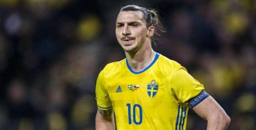 رسميا.. إبرهيموفيتش خارج قائمة السويد في كأس العالم