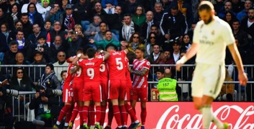 جيرونا يفوز 2-1 على ريال مدريد