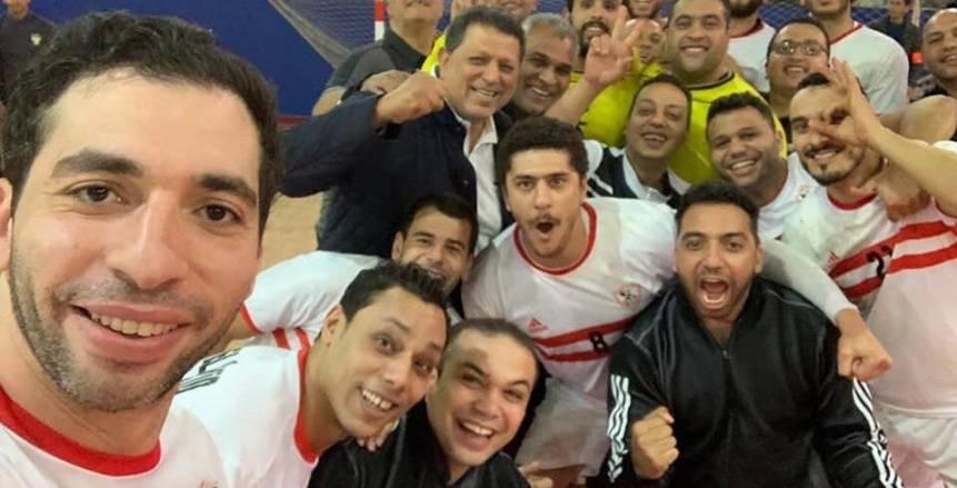 """بالصور.. حملة لدعم فريق يد الزمالك بكأس العالم للأندية:""""معاكم يا كوماندوز"""""""
