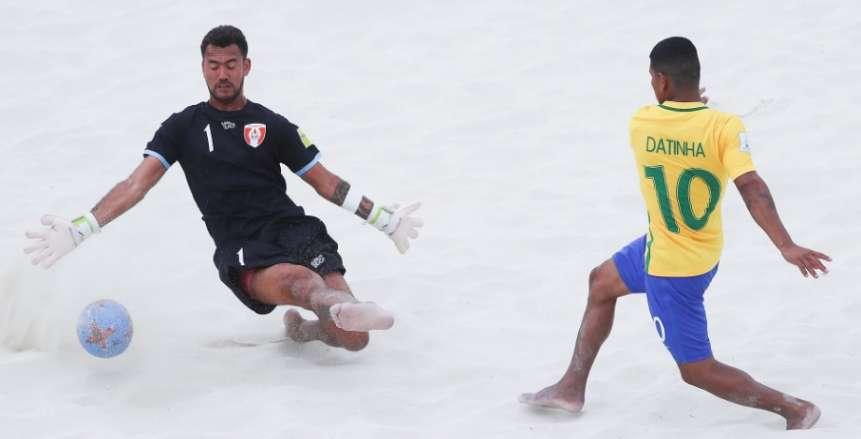 البرازيل يكتسح تاهيتي بسداسية ويحقق لقب مونديال الشاطئية للمرة 14