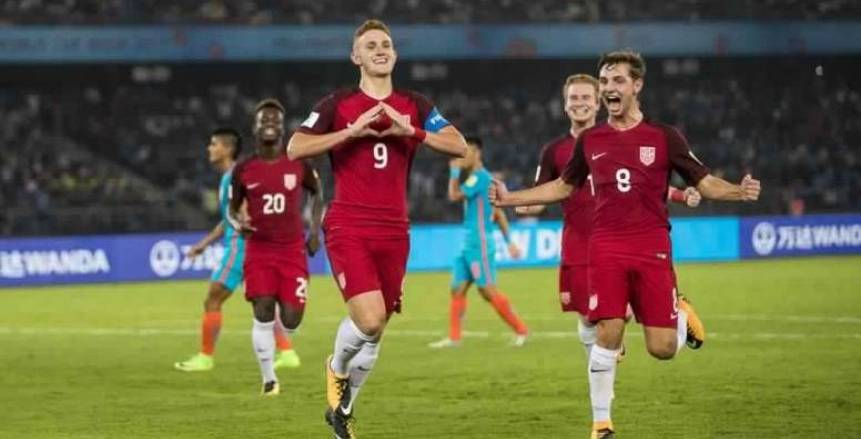 أمريكا تفوز على الهند بثلاثية نظيفة في كأس العالم للناشئين