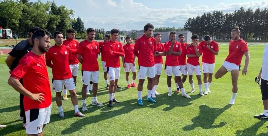 تشكيل منتخب مصر أمام إسبانيا في أولمبياد طوكيو