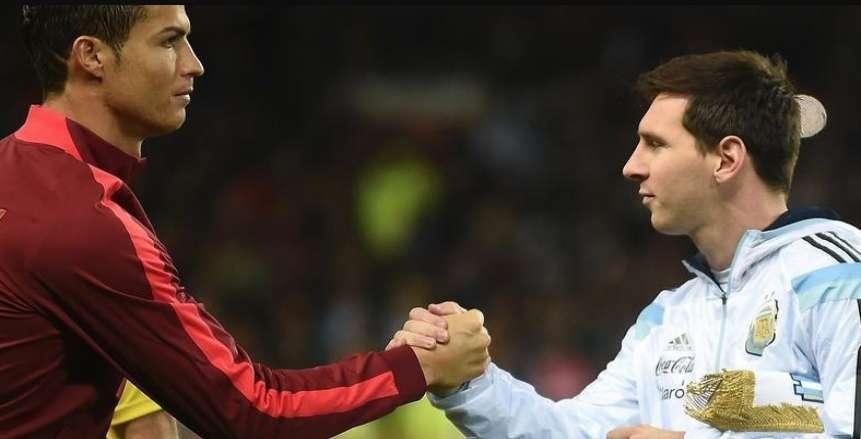 مفاجأة.. لابورتا يخطط للجمع بين ميسي ورونالدو في برشلونة