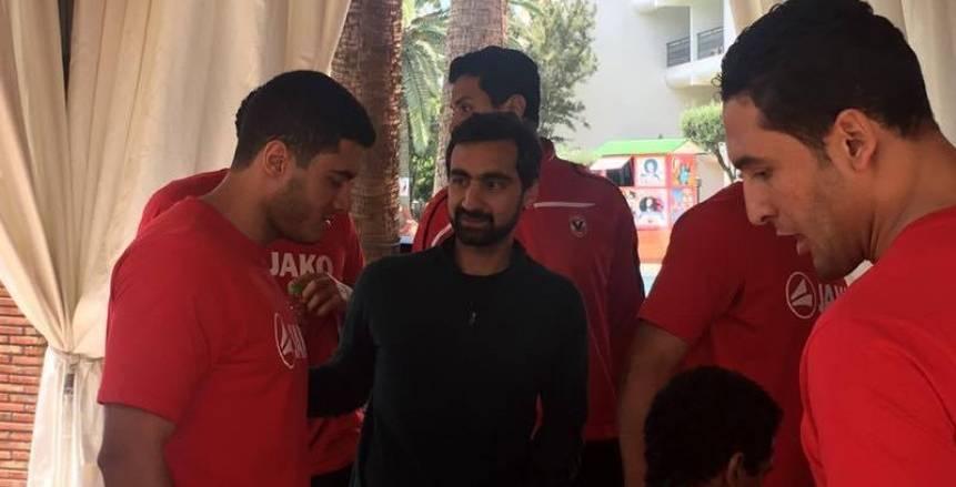 سفير مصر في المغرب يهنىء الفريق بالوصول لنهائي بطولة أفريقيا