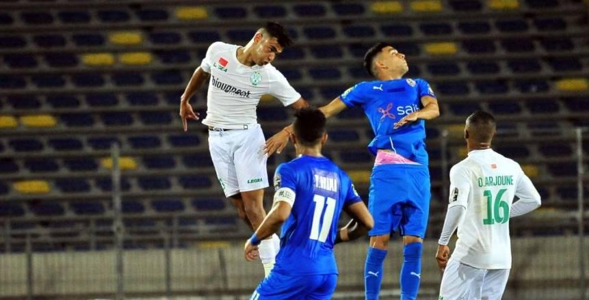 مباراة الزمالك والرجاء المغربي في نصف نهائي دوري أبطال أفريقيا
