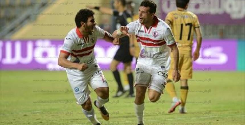 صور مباراة الإنتاج الحربي والزمالك ربع نهائي كأس مصر