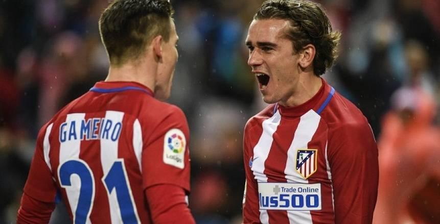 الدوري الإسباني| «جريزمان» و«جاميرو» يقودان هجوم أتلتيكو مدريد في مواجهة سيلتا فيجو