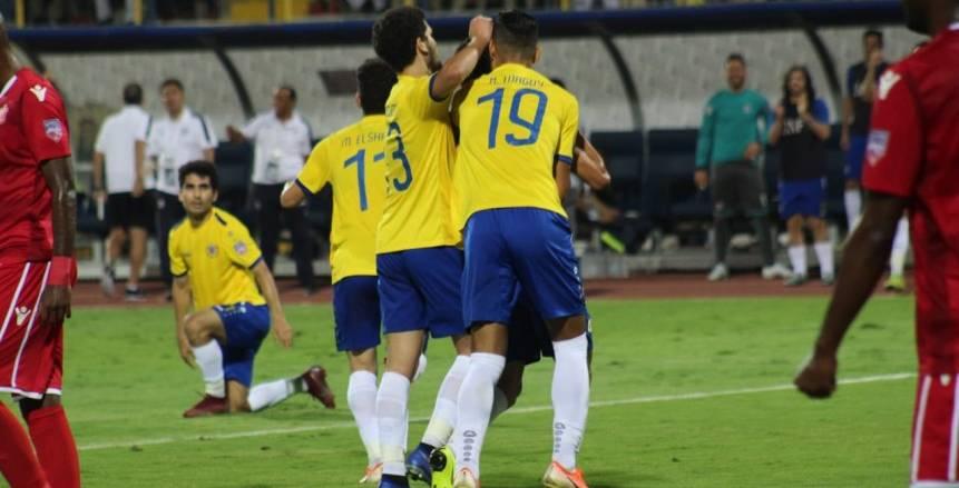 الجهاز الفني للإسماعيلي يذاكر فريق الجزيرة الإماراتي قبل مواجهة البطولة العربية