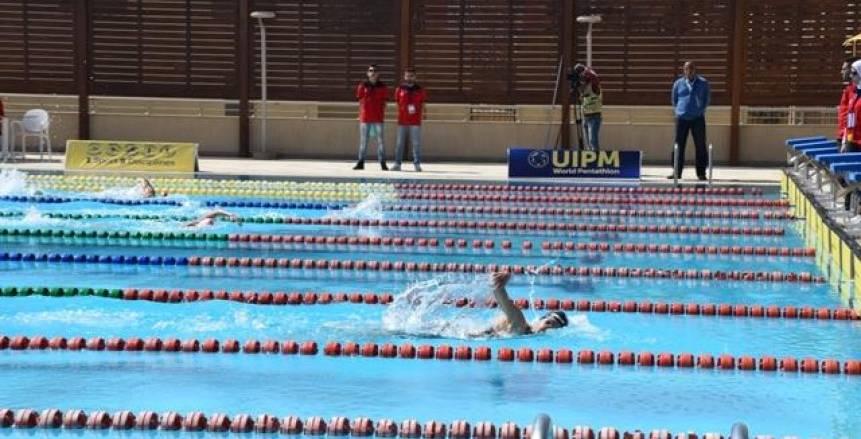 أحمد سالم يفوز ببرونزية ٤٠٠ متر متنوع بسباحة الألعاب الإفريقية